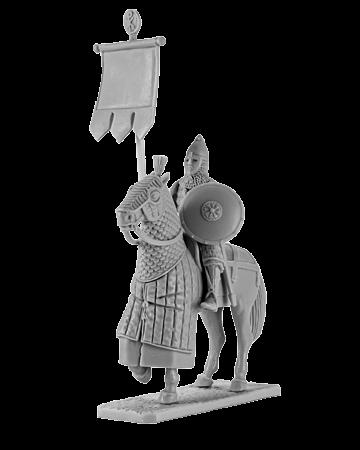 Byzantine Standard Bearer Mounted