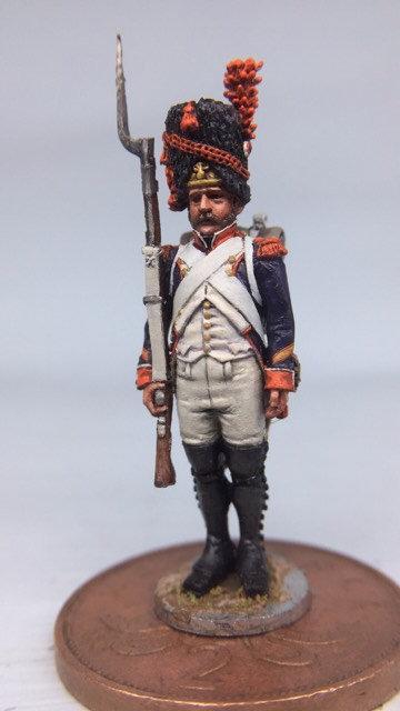 11.007-M Line Infantry Grenadier Sergeant in Bearskin