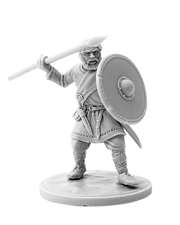 Viking with Spear #4
