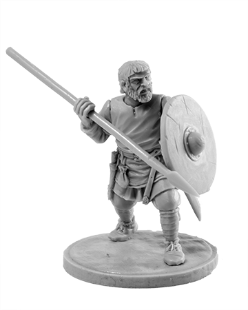 Viking with Spear #7