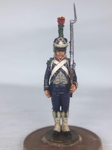 11.084-M Chasseur in Shako Standing