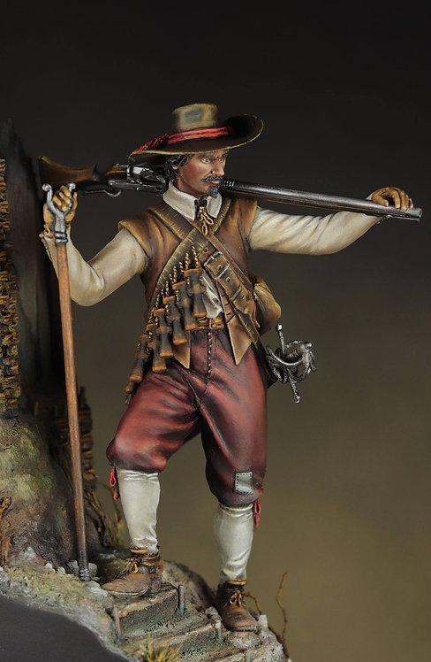 75.001 European Musketeer 1630 AD