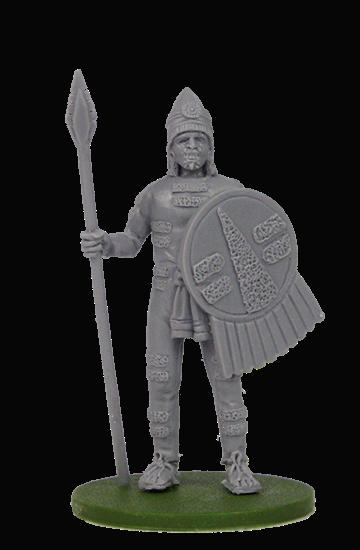 Aztec Cuextecatl Soldier