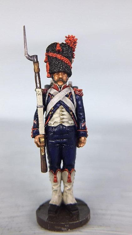 11.078-M Carabinier Company Sergeant in Bearskin