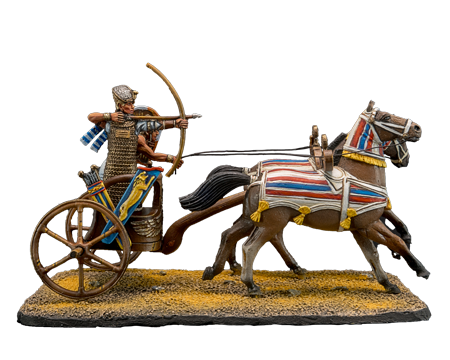 Ancient Egyptian Chariot and Pharaoh
