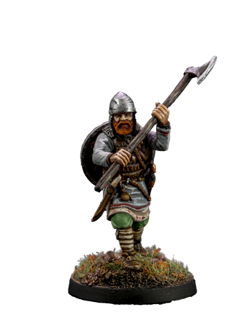 Viking with Broad Axe #4