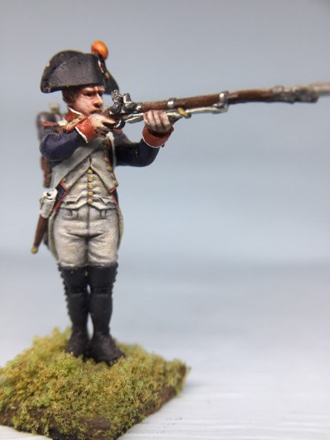 11.019-M Line Infantry Fusilier 1st Line Shooter in Bicorn