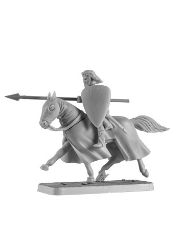 Mounted Crusader Knight #3