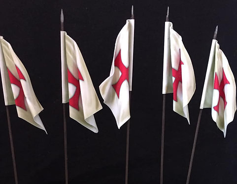Crusades - Knights Templar Flag 1