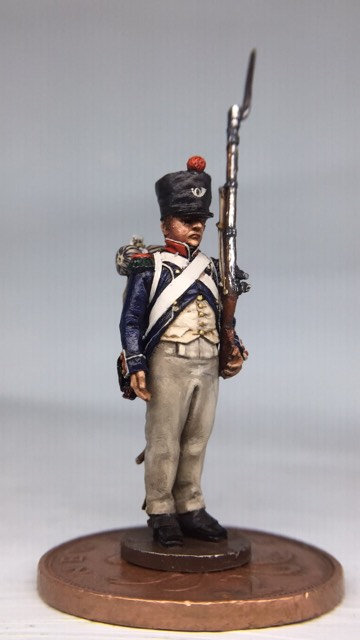 11.089-M Light Infantry Private in Campaign Dress Standing