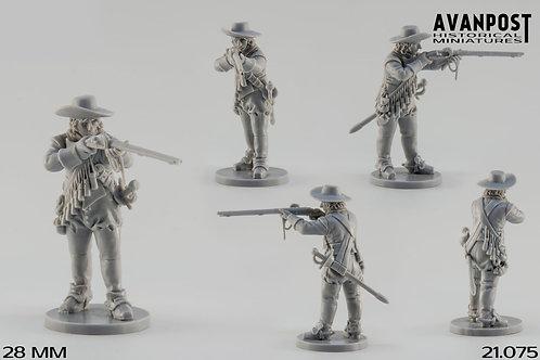 21.075 Dismounted Dragoon, Firing