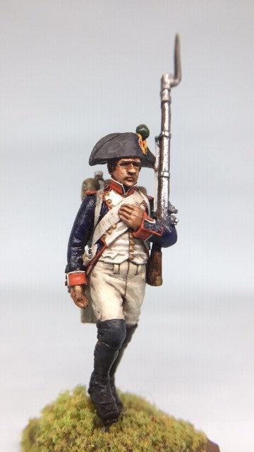 11.016-M Line Infantry Fusilier Walking in Bicorn