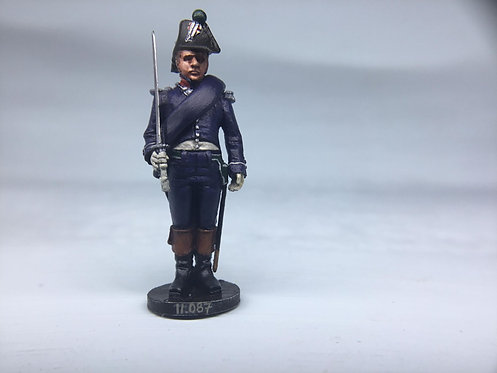 11.087-M Infantry Officer in Bicorn Standing