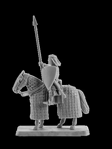 Mounted Crusader Knight #6
