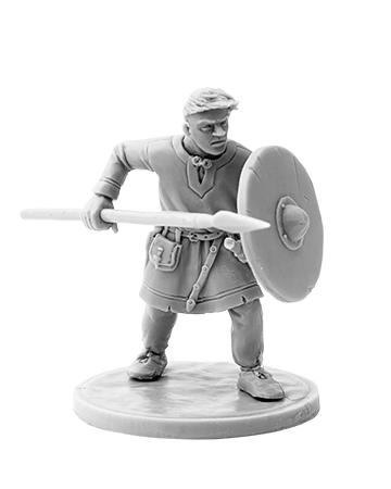 Viking with Spear #3