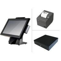 Receipt printer,cash draws, touch screens