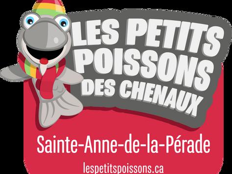 Poissons des Chenaux à Ste-Anne de la Pérade, le 30 janvier 2018