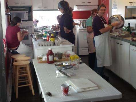 Cuisine Collective chez Parent-Ailes                                   le 19 octobre 2017