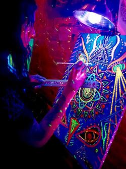 Cosmic 3D UV Painting