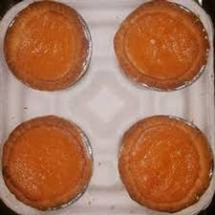 Sweet Potato Pie 4 mini pies