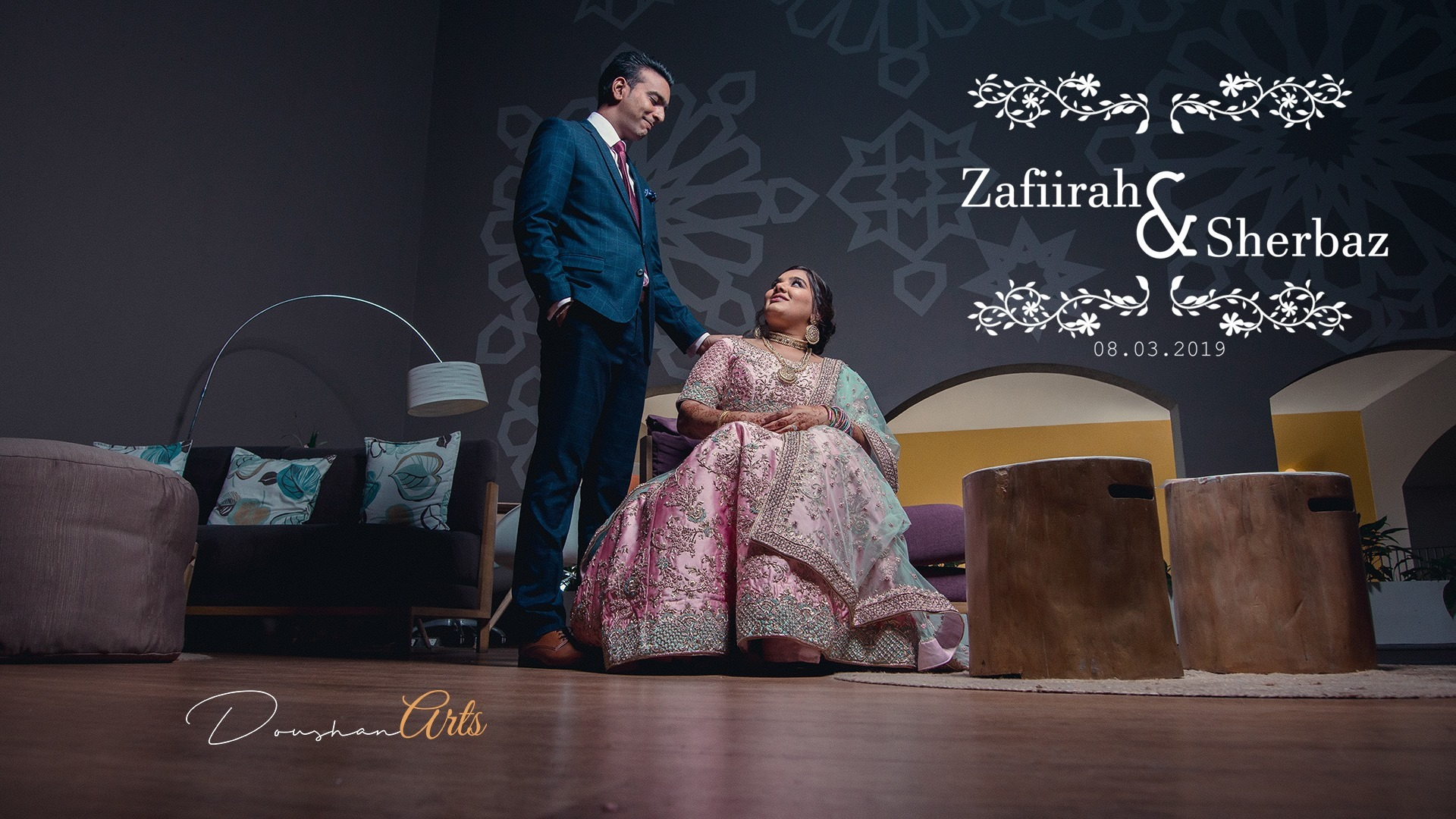 The Grand wedding of Zafiirah & Sherbaz