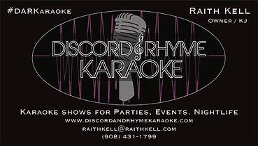 Discord and Rhyme Karaoke