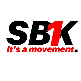 SB1K T-SHIRT (Black w/ Red)