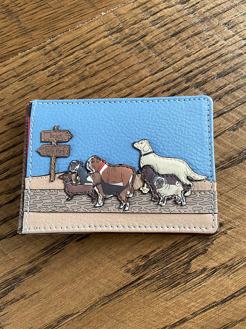 Travel Pass Holder Yoshi Handmade Leather.