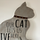 Thumbnail: Our Cat Wooden Plaque