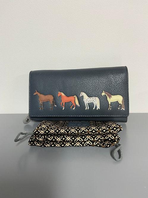 Best Friends Horses Matinee Purse Grey horsey gift