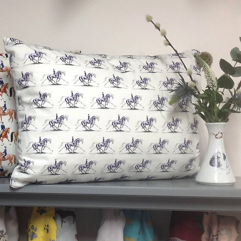 Extended Trot Equestrian Cushion Dressage Lovers great gift