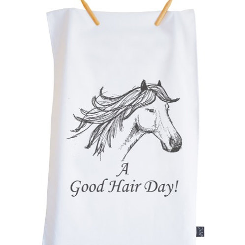 Good Hair Day - Tea Towel