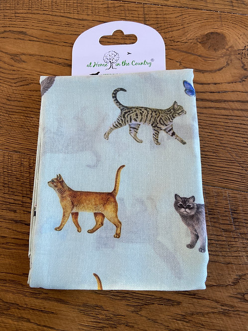 Cat Lovers Scarf from At Home in the Country