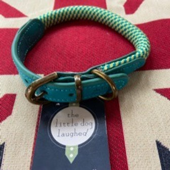 Designer Dog Collar - by The Little Dog Laughed - Green