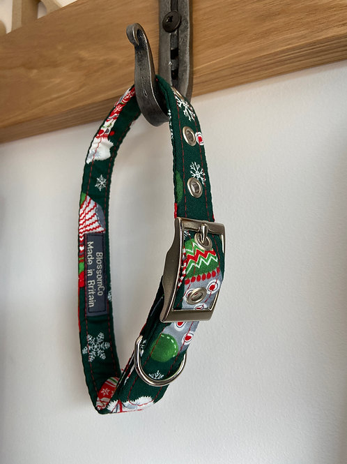 BlossomCo Dog Collar - Christmas Dreams