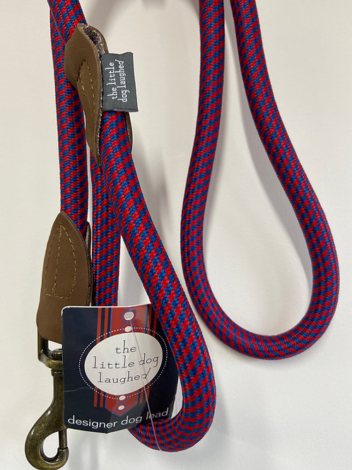 Designer Dog Lead by The Little Dog Laughed - Red