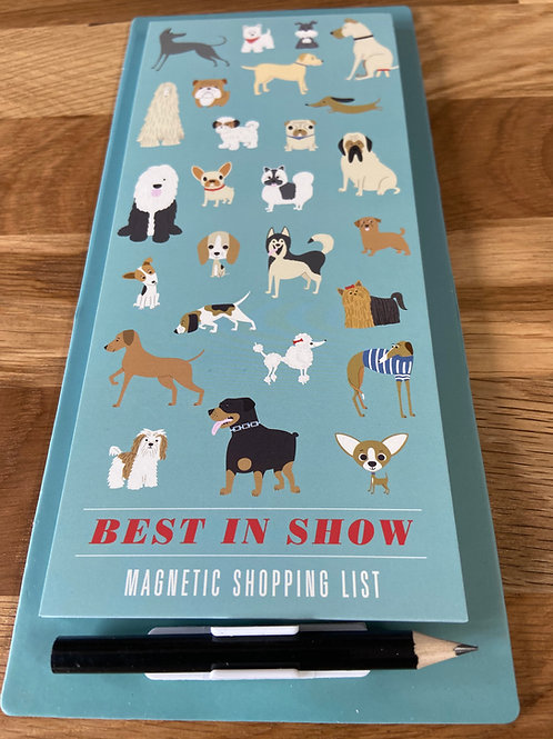 Shopping List - Magnetic Best In Show Design