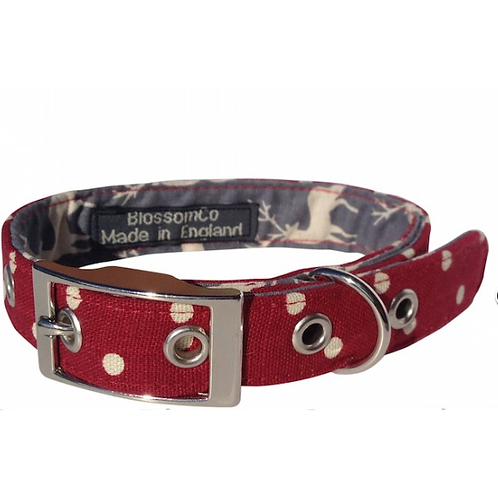 BlossomCo Dog Collar Angus perfect gift for dog lovers