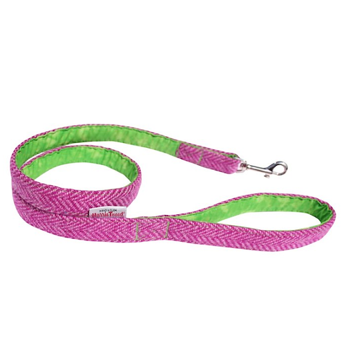 BlossomCo Harris Tweed Dog Lead - Benecular