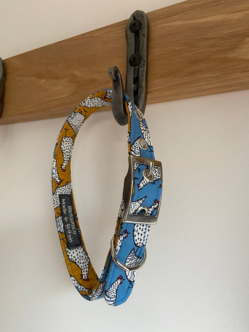 BlossomCo Dog Collar Hens Perfect gift for dog lovers
