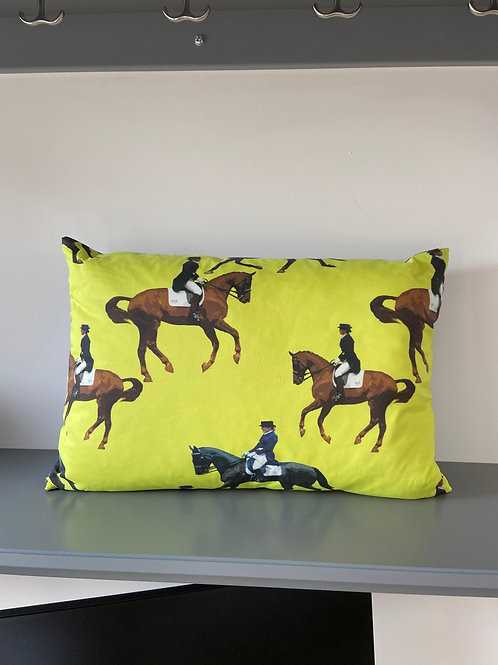 Horse Cushion Love Dressage soft furnishing