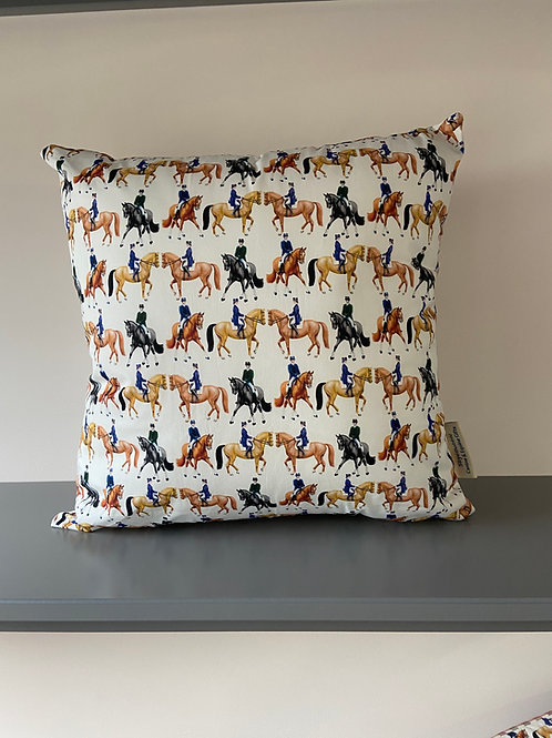 Dressage Moves - Equestrian Cushion