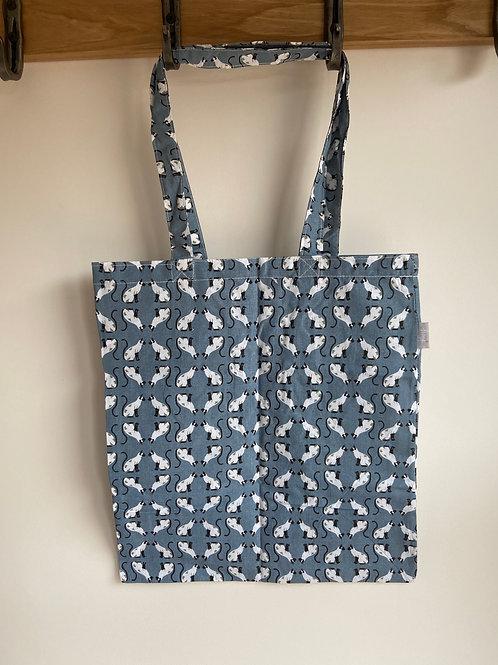 Peony Cats - Shopping Bag