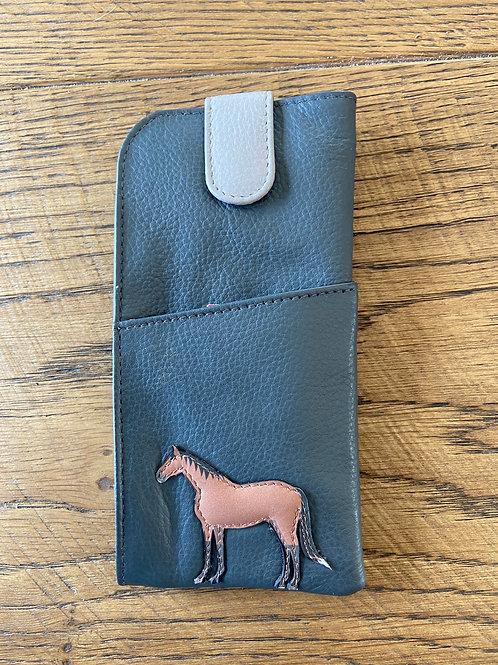Horse Glasses Case Equestrian Design by Mala