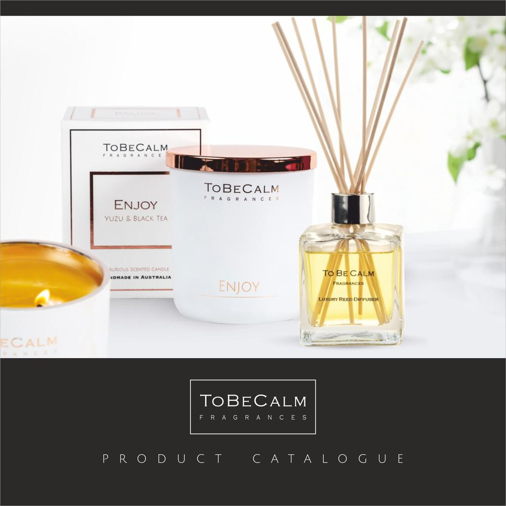 to be calm fragrances scent product range reed diffusers soy wax candle luxury scent