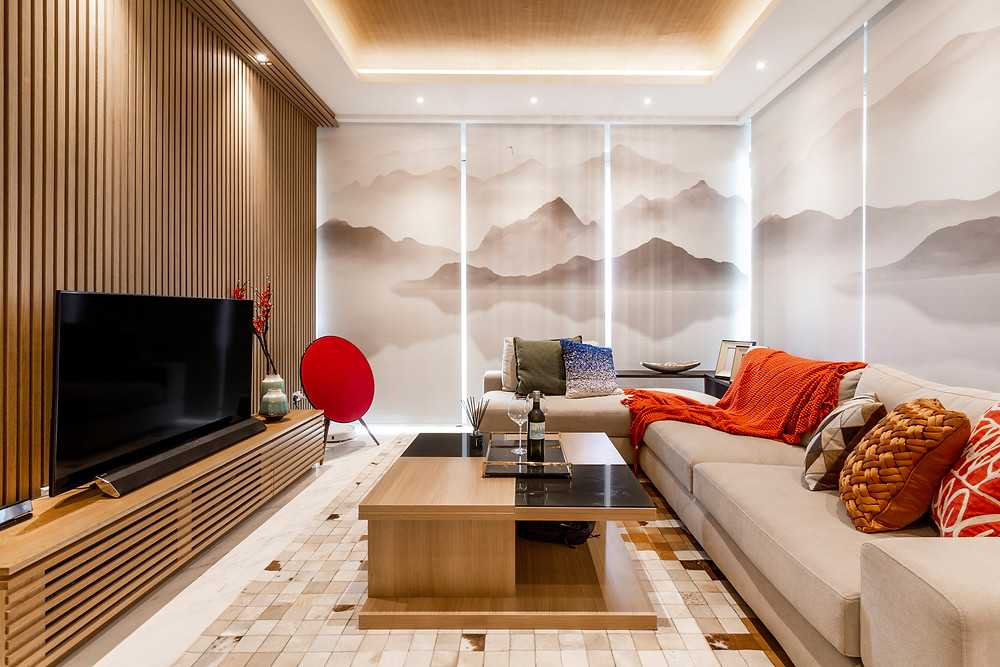 Interior Design mr shopper studio one robin zen minimalism japanese style motifs contemporary oriental luxury