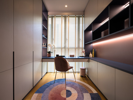 Primary Colors for Hue Loving Homeowner at Park Place Residences