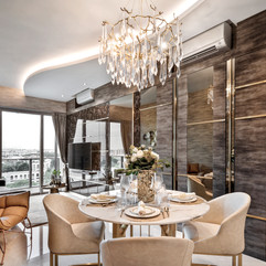 Stars of Kovan | Dining Area overlooking Living Room