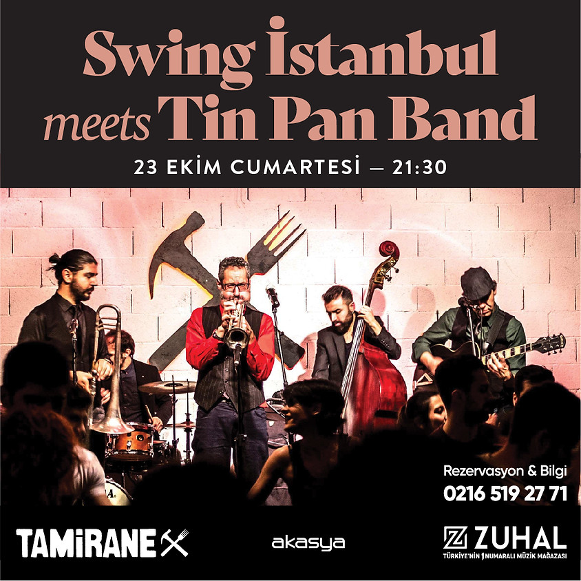 Swing İstanbul meets Tin Pan Band