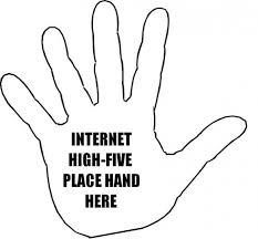 internet high five